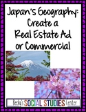 Geography of Japan Project: Create a Real Estate Advertisement or Commercial