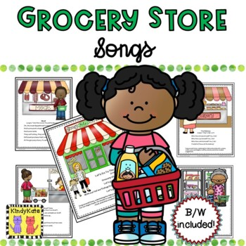 Grocery Store Songs & Rhymes | Shopping
