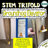 Groundhog Day STEM Trifold: Groundhog Elevator