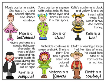 Halloween Speech and Language