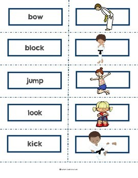 I Know Karate by Mary Packard Guided Reading Lesson Plan Level D