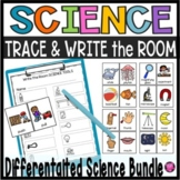 Kindergarten Science Bundle Write the Room Activities