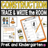 Community Helpers Write the Room Activities Construction Workers