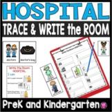 Community Helpers Kindergarten Hospital Write the Room