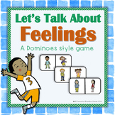 Let's Talk About Feelings Game dominoes style