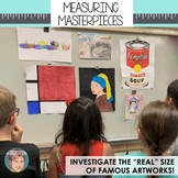 Measuring Masterpieces: Art Integrated Area and Perimeter