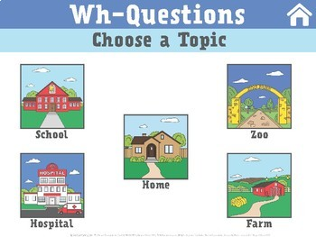 NO PRINT Wh-Questions by Topic: Discriminating Who, What, Where, etc.