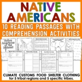 Native Americans Unit - Reading Passages and Comprehension