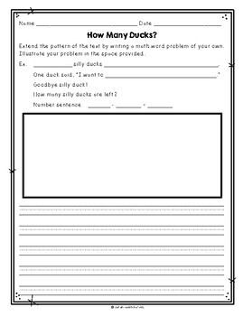 How Many Ducks? by Cindy Chapman, Guided Reading Lesson Plan Level D