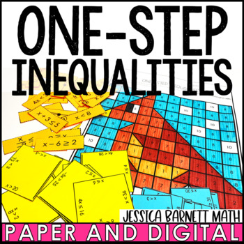 One-Step Inequalities Activity Pack