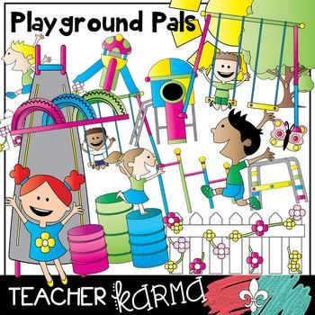 Playground & Park Pals * Kids Clipart