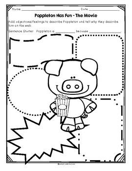 Poppleton Has Fun by Cynthia Rylant Guided Reading Lesson Plan Level J