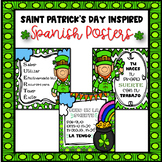 Saint Patrick's Day Inspired Posters For The Spanish Class