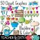 Seller's Kit: Garden Clipart * Papers * Buntings * Frames * Borders