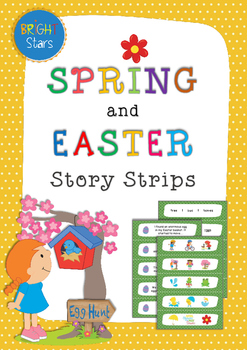 Spring & Easter: Story Strips, Question Cards & Story Starters