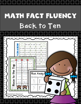 Subtraction Math Fact Fluency: Back to Ten
