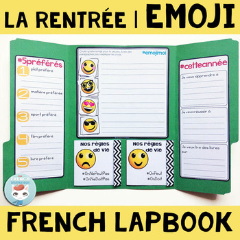 french back to school french lapbook activit pour la. Black Bedroom Furniture Sets. Home Design Ideas