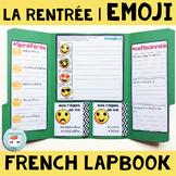 French Back to school French Lapbook | Activité pour la re