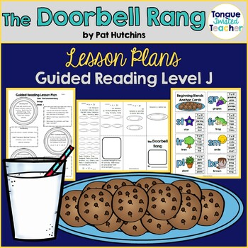 The Doorbell Rang by Pat Hutchins, Guided Reading Lesson P