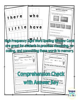 The Little Red Hen by Janelle Cherrington, Level D Guided Reading Plan