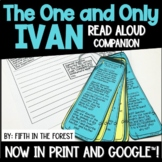 The One and Only Ivan Read Aloud Companion for Distance Learning