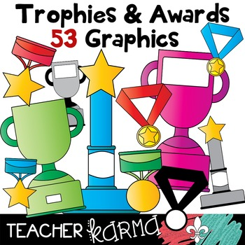 Trophy Cups, Awards, & Medallions * Add Your Text!