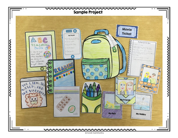 What's in Your Backpack? Interactive Getting to Know You Bulletin Board