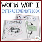 World War 1 Interactive Notebook