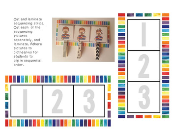 Sequencing Bundle with No Prep Worksheets  #twosunnydeals