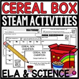 STEAM Activities: ELA Cereal Box Challenge