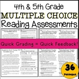 Multiple Choice 4th & 5th Grade Reading Assessments