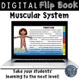 Muscular System Digital Flip Book