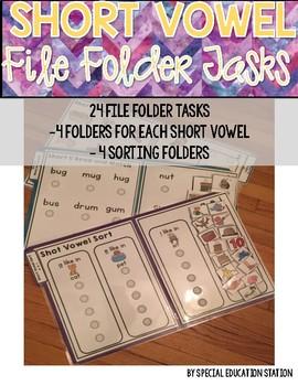 Short Vowel File Folders
