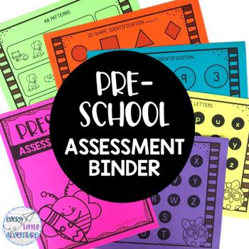 Preschool Assessment Binder (Pre-K)