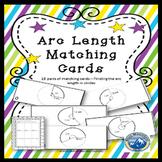 Arc Length Matching Card Set