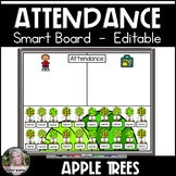 Attendance Smart Board Apple Trees