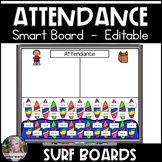 Attendance Smart Board Surf Boards