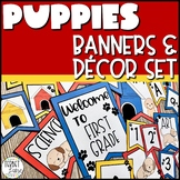 Dog Theme Classroom Banners and Decor for Back to School