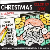 Christmas Color by Code