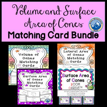 Cone Matching Card Bundle