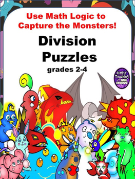 Division Scavenger Hunt Logic Puzzle Games