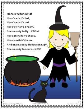 Halloween Songs & Rhymes