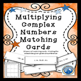 Multiply Complex Numbers Matching Card Set