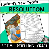 Squirrel's New Year's Resolution STEM