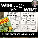 Who Would Win? Green Ants vs. Army Ants