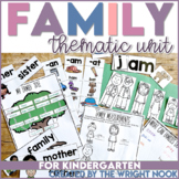 Family Thematic Unit for Kindergarten