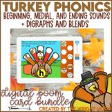 Thanksgiving Activities Phonics Practice | Digital Boom Cards