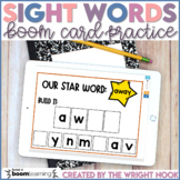 Sight Word Boom Cards for Distance Learning