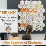 """""""BEE KIND"""" Collaborative Tessellation Project 
