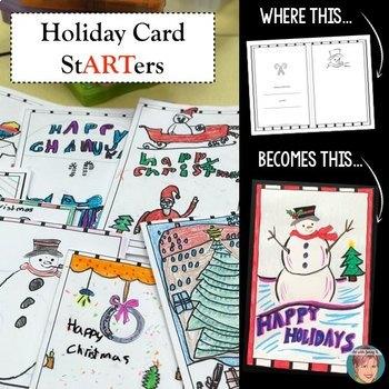 Holiday Card StARTers - Fun, Creative Christmas Card Making Holiday ...